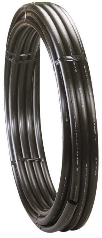 Centennial Plastics  1-1/2 in. Dia. x 100 ft. L Polyethylene  Pipe  80 psi