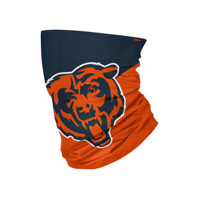 Foco  Chicago Bears  Gaiter Scarf  Face Mask  1 pk