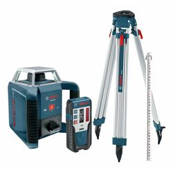 Bosch  Self Leveling Rotary Laser Kit  1300 ft. 8 pc.
