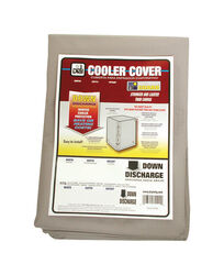 Dial 46 in. H x 40 in. W Polyester Gray Evaporative Cooler Cover