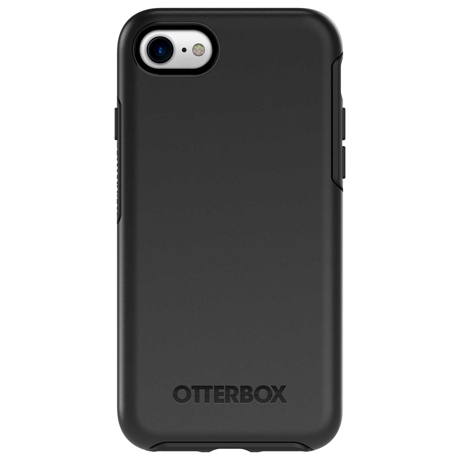 Otter Box  Symmetry  Black  Cell Phone Case  For Apple iPhone 7