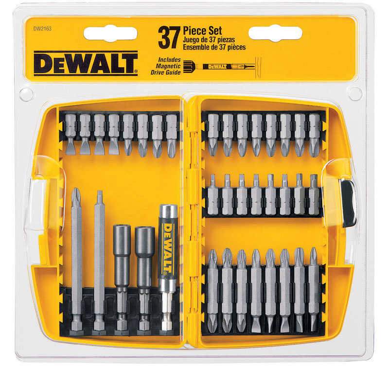 DeWalt  Screwdriver Bit  37 pc. Multi Size in. 37 pc.