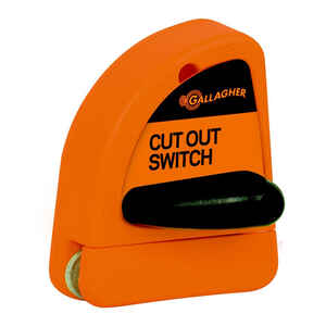 Gallagher  Electric Fence Cut Off Switch  Orange