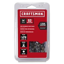 Craftsman  14 in. 52 links Low Kickback Saw Chain
