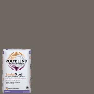 Custom Building Products  Polyblend  Indoor and Outdoor  Natural Gray  Grout  25 lb.