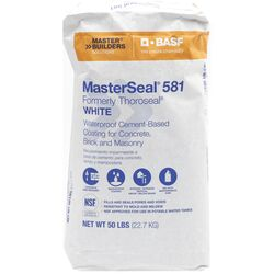 BASF MasterSeal 581 White Cement-Based Waterproof Coating 50 lb.