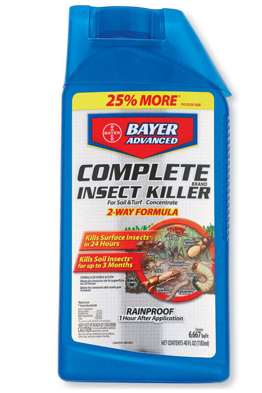 Bayer Advanced  Insect Killer for Lawns  40 oz.
