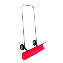 Dakota Sno Blade  36 in. W x 48 in. L Poly  Wheeled Snow Shovel