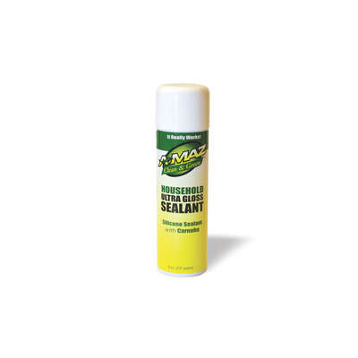 A-MAZ  Clean & Green  No Scent Gloss Sealant  8 oz. Gel