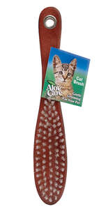 Aloe Care  For Cat Brush  1  1  Brown