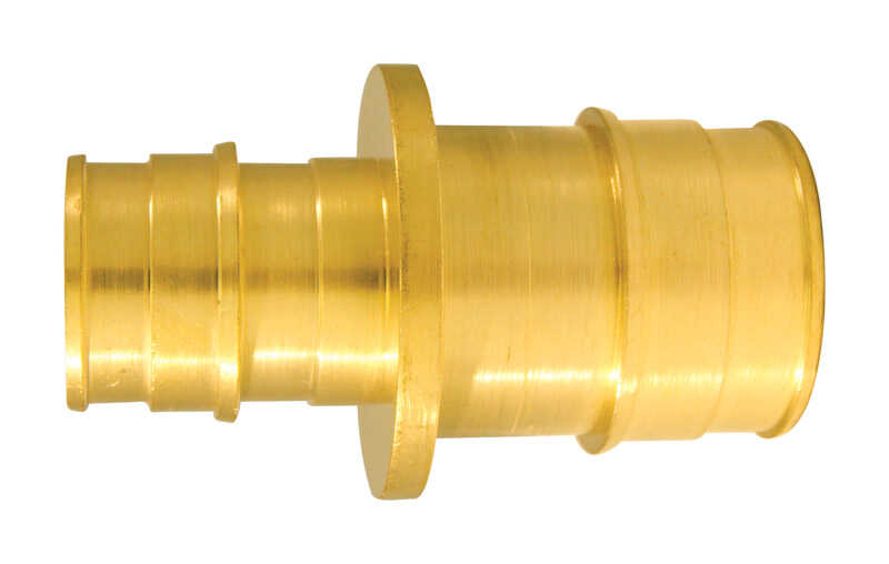 Apollo  Expansion PEX / Pex A  1 in. PEX   x 3/4 in. Dia. PEX  Brass  Coupling
