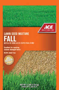 Ace  Fall  Mixed  Grass Seed Mixture  3 lb.