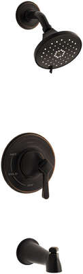 Kohler Georgeson 1-Handle Oil Rubbed Bronze Tub and Shower Faucet