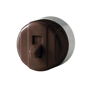 Cooper Wiring  Toggle  Switch  Brown  1 pk