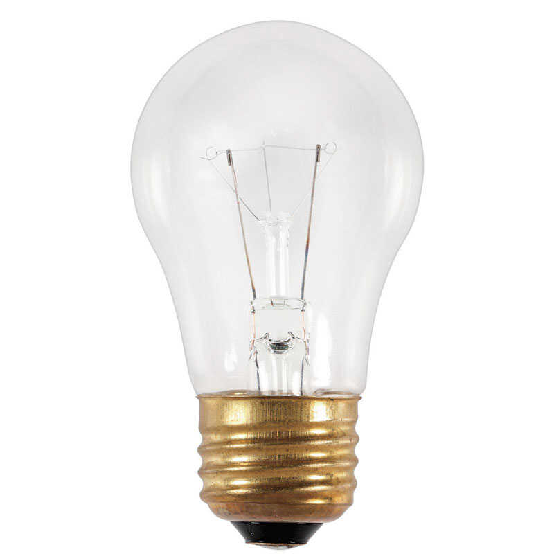 Westinghouse  25 watts A15  Appliance  Incandescent Bulb  175 lumens White  1 pk