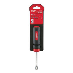 Milwaukee  3/16 in. SAE  Hollow Shaft  Nut Driver  7 in. L 1 pc.