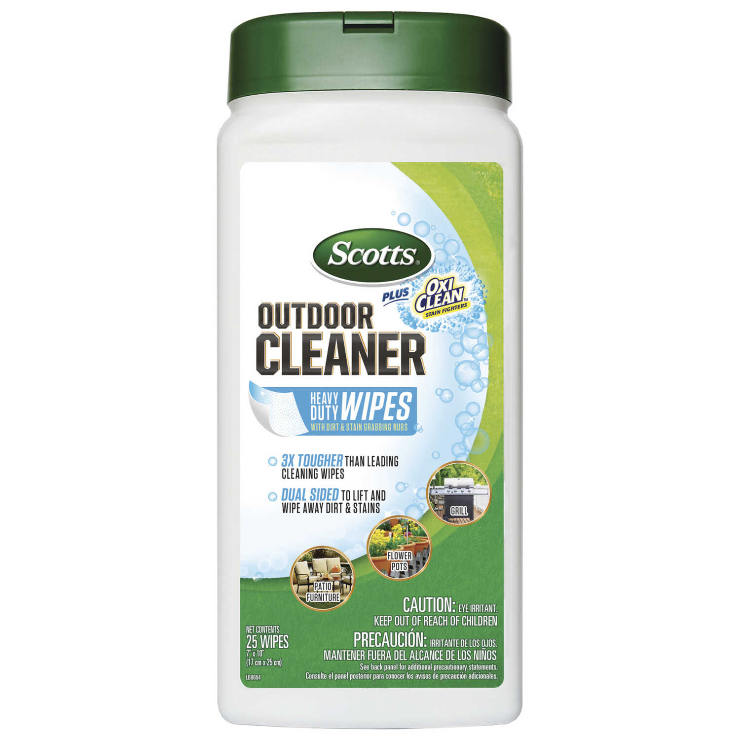 Scotts Plus Oxi Clean Outdoor Furniture Cleaner 25 Count