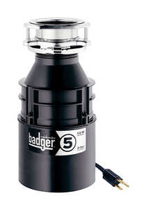 InSinkErator  Badger  1/2 hp Stainless Steel  Garbage Disposal