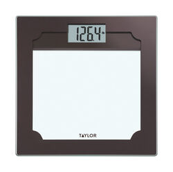 Taylor  400 lb. Digital  Bathroom Scale  Clear