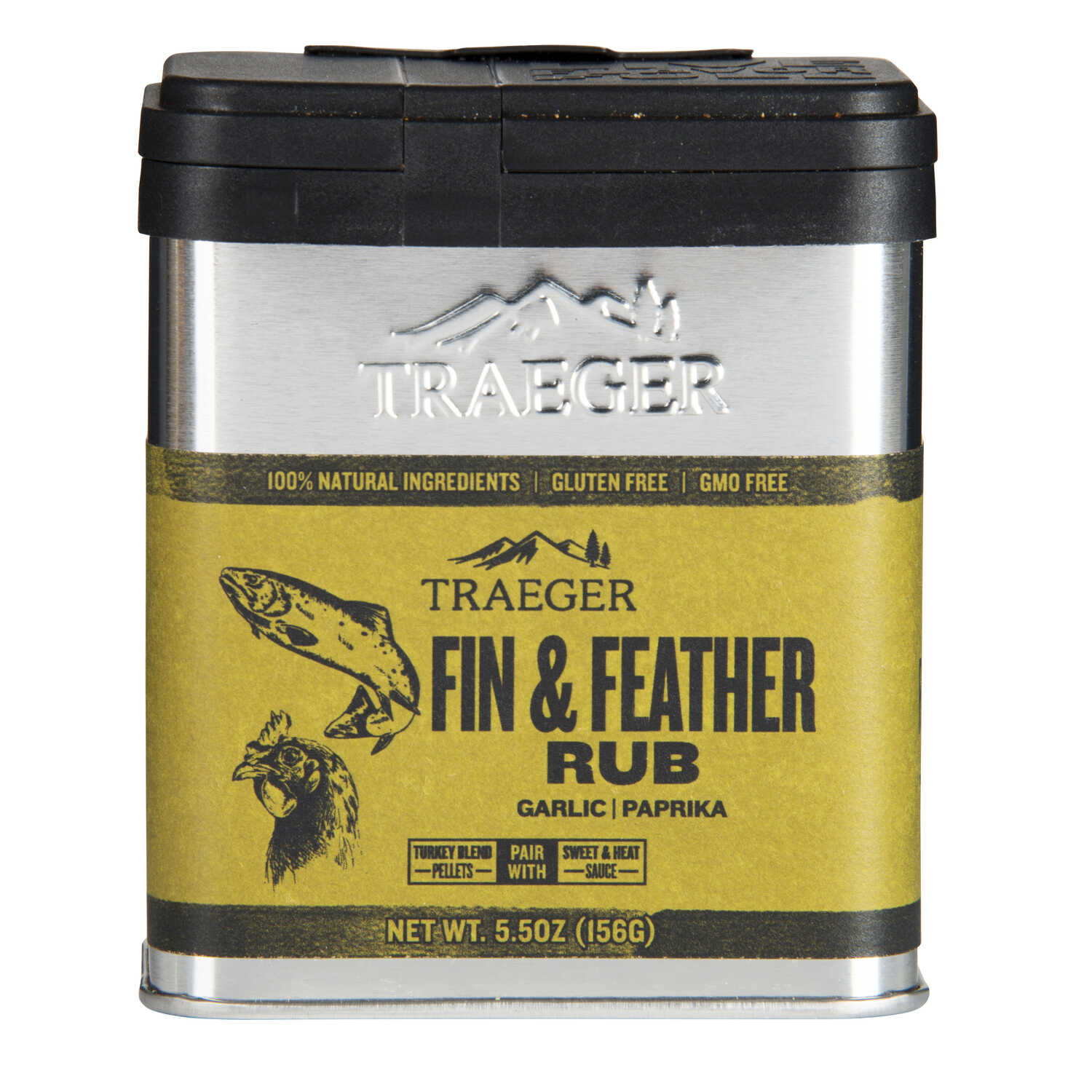 Traeger  Garlic and Paprika  Seasoning Rub  5.5 oz.
