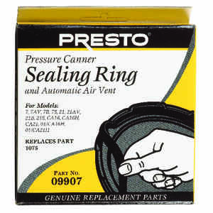 Presto  Rubber  Pressure Cooker Sealing Ring  21 qt.