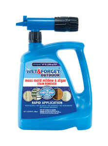 Wet and Forget  Outdoor  Mold and Mildew Stain Remover  48 oz.