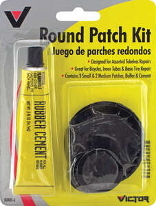 Victor  Round Patch Kit  For Automotive Tires