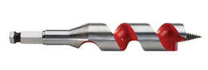 Milwaukee  1 in. Dia. x 6 in. L Ship Auger Bit  Hardened Steel  1 pc.