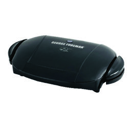 George Foreman George Tough Black Metal Nonstick Surface Indoor Grill 72 sq. in.