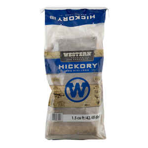 Western Premium BBQ Products  Organic Hickory  Hickory  Hardwood Pellets  1.5 cu ft