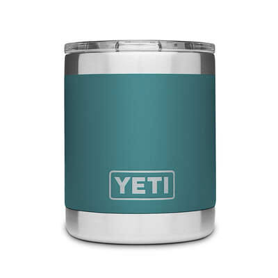 YETI  Rambler  10 oz. Lowball  Insulated Tumbler  River Green