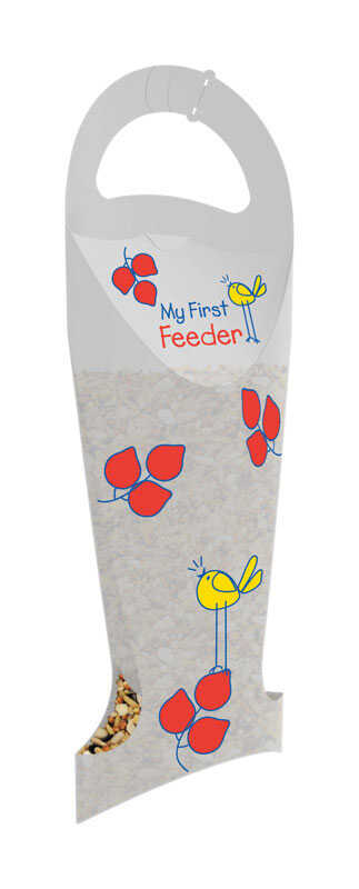 Fresh Brands  My First Bird Feeder  22 oz. Plastic  Collapsible  Bird Feeder  2 ports