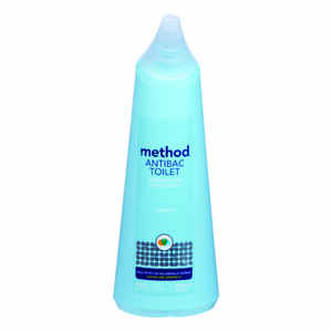 Method  Antibac Toilet  Spearmint Scent Toilet Bowl Cleaner  24 oz. Liquid