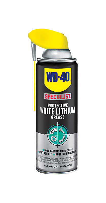 WD-40  Specialist  White Lithium  Grease  Can