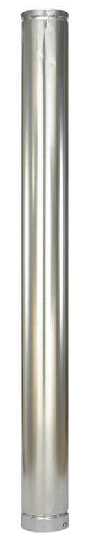 Selkirk  5 in. Dia. x 60 in. L Aluminum  Round Gas Vent Pipe