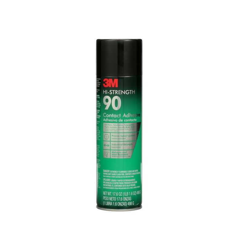3M  Hi Strength 90  High Strength  Synthetic Polymer  Adhesive  24 oz.