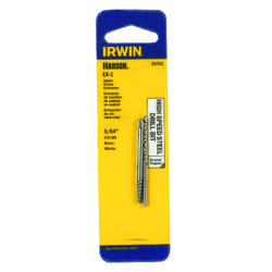 Irwin  Hanson  5/64 in.  x 5/64 in. Dia. High Speed Steel  Drill Bit Extractor Set  5.4 in. 1 pc.