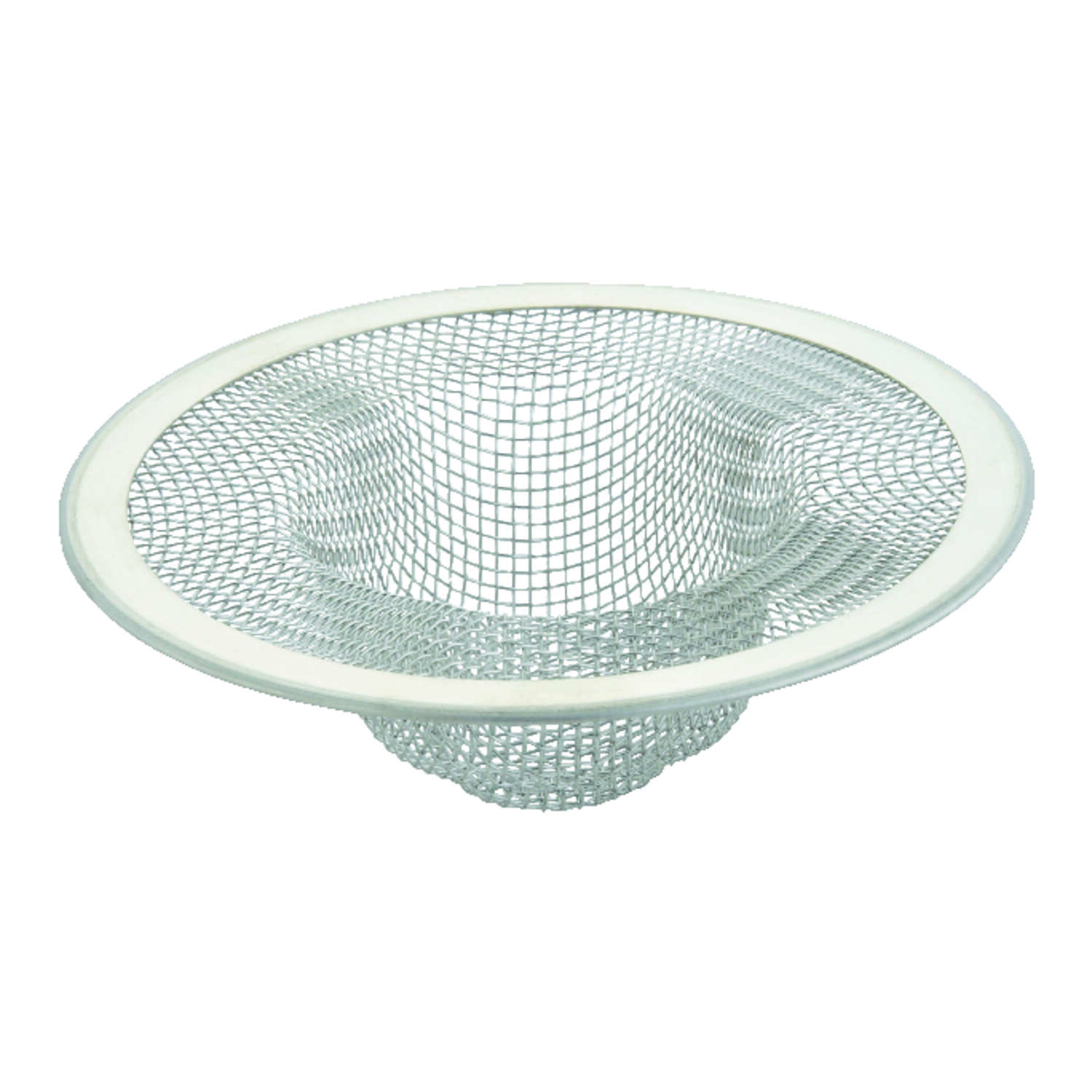 Ace  3-3/8 in. Dia. Chrome  Mesh Strainer