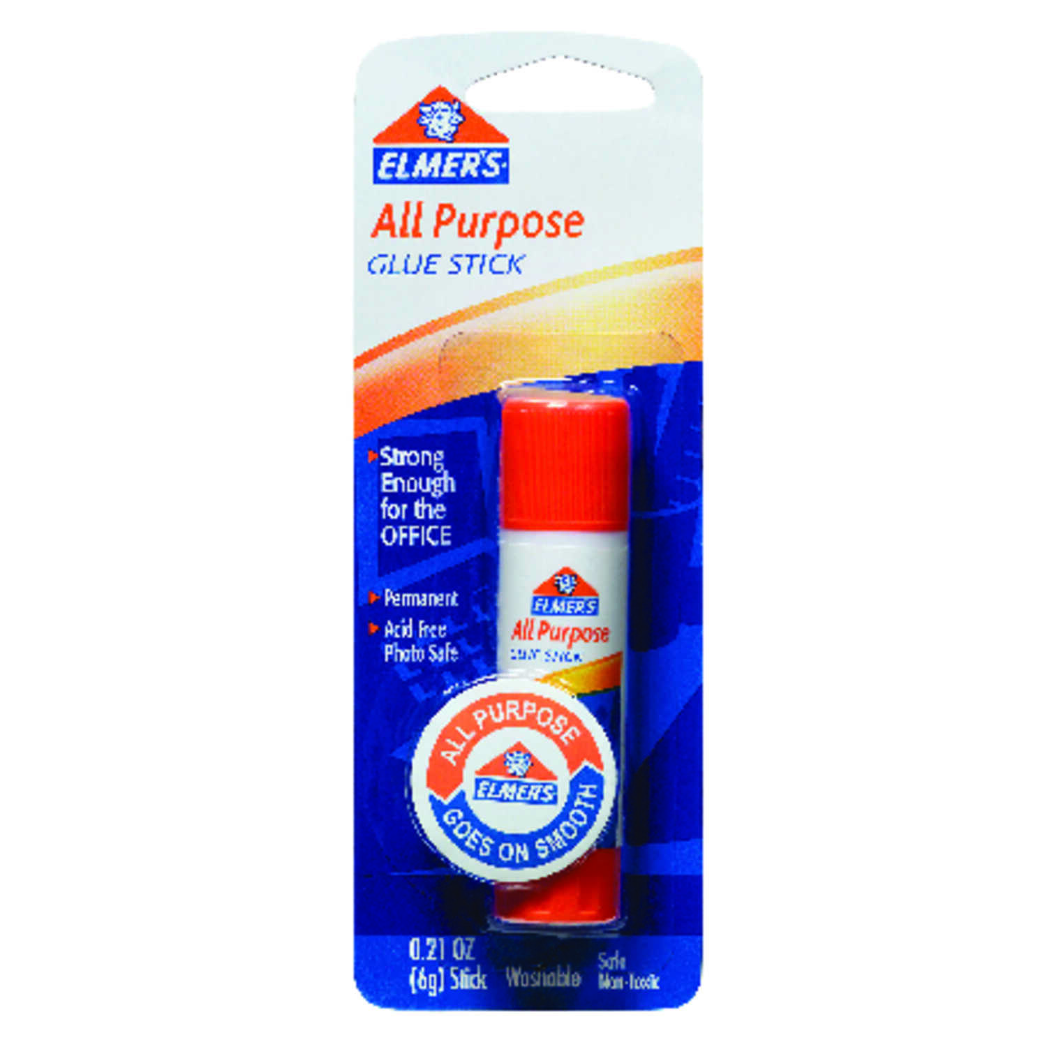 Elmer's  High Strength  Polyether  All Purpose Glue Stick  0.22 oz.