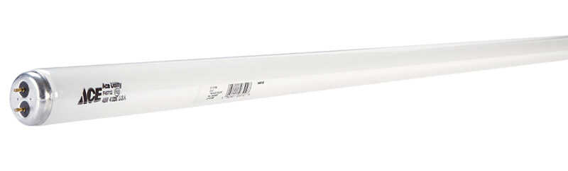 Ace 40 watts T12 48 in  L Fluorescent Bulb Cool White Linear 4100 K