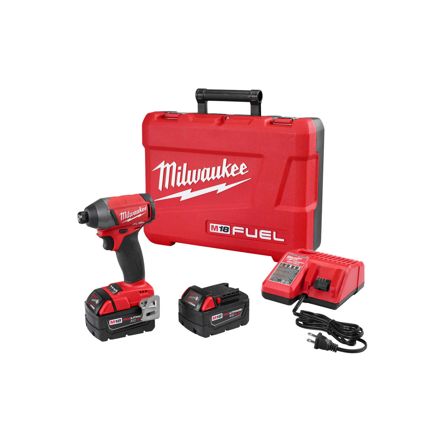 Milwaukee  M18 FUEL  18 volt Cordless  Brushless  Impact Driver  Kit  1800 in-lb