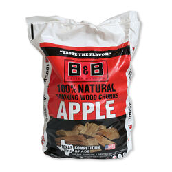 B&B  Apple  Wood Smoking Chunks  549 cu. in.