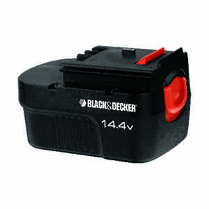 Black and Decker  14.4 volt Ni-Cad  Battery Pack  1 pc.