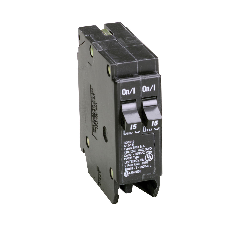 circuit breakers fuses \u0026 circuit breakers ace hardwareeaton cutler hammer 15 15 amps tandem 2 pole circuit breaker