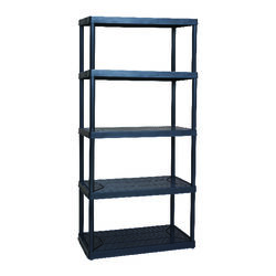 Maxit  72 in. H x 36 in. W x 18 in. D Resin  Shelving Unit