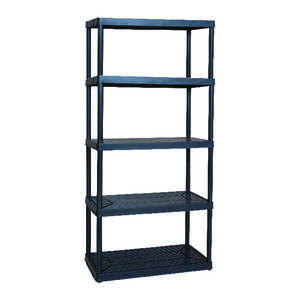 Maxit  72 in. H x 32 in. W x 18 in. D Resin  Shelving Unit