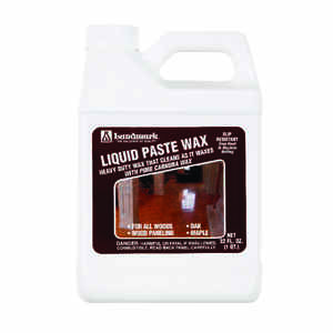 Lundmark  Liquid Paste Wax  Clear  Heavy Duty Wax  Liquid  32 oz.