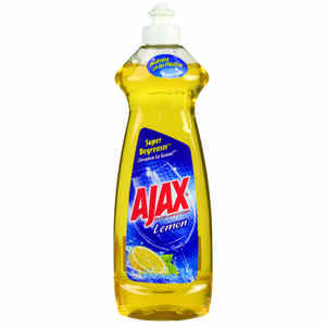 Ajax  Lemon Scent Liquid  Dish Soap  12.6 oz.