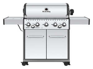 Broil King  Baron S590  5 burners Propane  Stainless Steel  Grill  50000 BTU