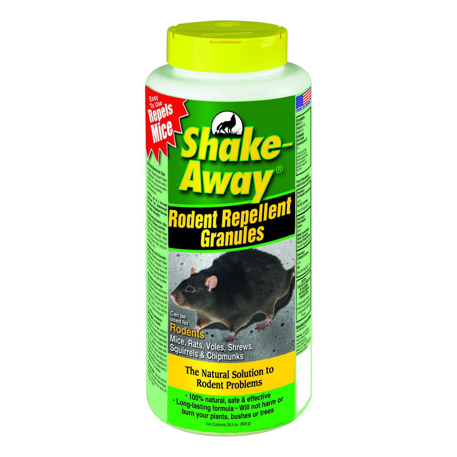Shake-Away  Animal Repellent  Granules  For Rodents 28.5 oz.